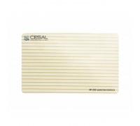 Реечный потолок Cesal 203 Золотая полоса 100-150 мм