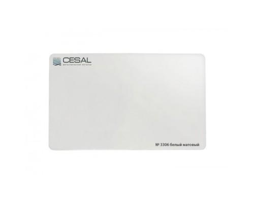 Кассета Cesal Белая матовая 3306 600x600 мм