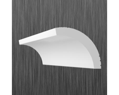 Плинтус потолочный пенопласт A-40 Киндекор Kindecor - длина 2 метра