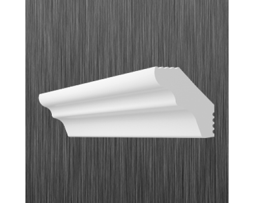 Плинтус потолочный пенопласт E-25 Киндекор Kindecor - длина 2 метра