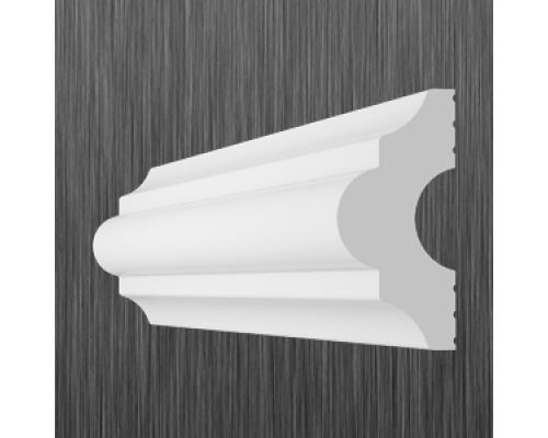 Плинтус потолочный пенопласт I-40 Киндекор Kindecor - длина 2 метра