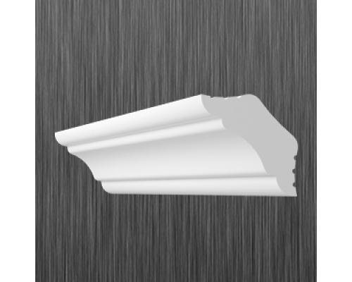Плинтус потолочный пенопласт K-25 Киндекор Kindecor - длина 2 метра
