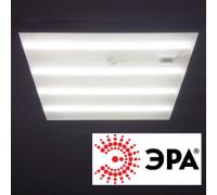 Светильник светодиодный 595х595х25мм Эра SPO-2-36-4K универсальный Призма 36Вт 4000К Белый свет с Эпра