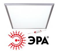 Панель светодиодная 595х595х10мм Эра SPL-1-40-6K (S) ультратонкая 40Вт Опал 6500К Холодный свет с LED-драйвером