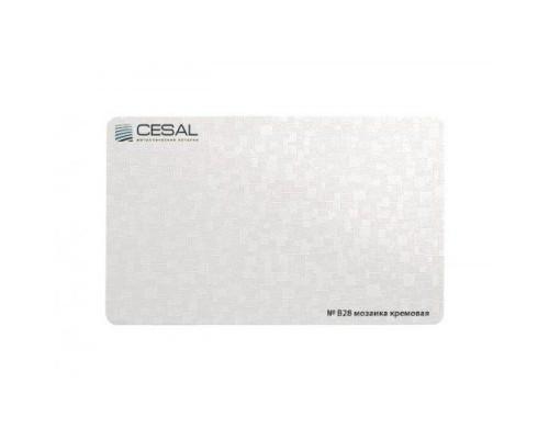 Кассета Cesal B28 Мозаика кремовая 300x300 мм
