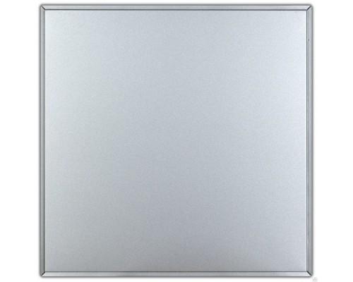 Алюминиевая кассета Армстронг серый металлик Албес
