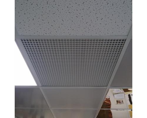 Решетки вентиляционные Сота 595х595 мм для потолка Армстронг