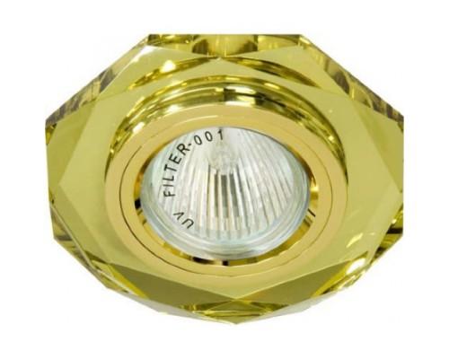 Светильник Feron 8020-2 желтый,золото