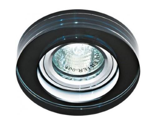Светильник Feron 8080-2 черный, серебро