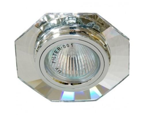 Светильник Feron 8120-2 серебро