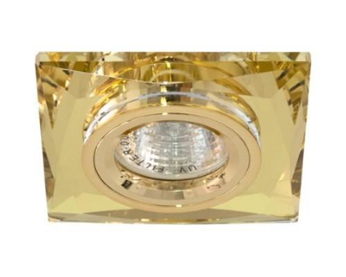 Светильник Feron 8150-2 желтый+золото